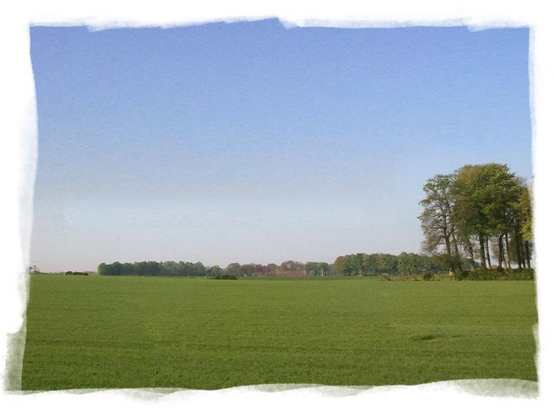 Champs et campagne à proximité de Fécamp