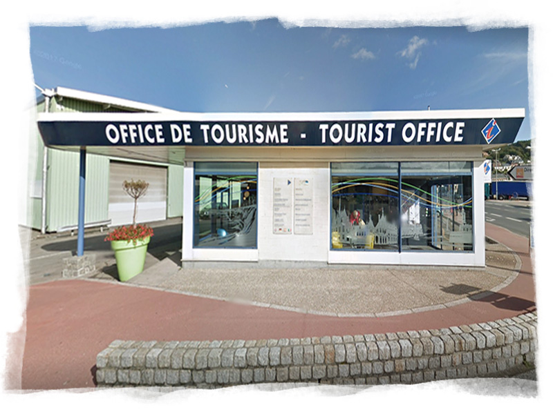 L'Office de Tourisme de Fécamp est situé à 300 mètres de l'hôtel
