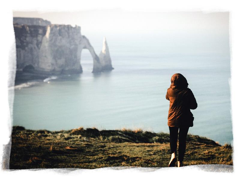 Randonnées sur les falaises d'Etretat